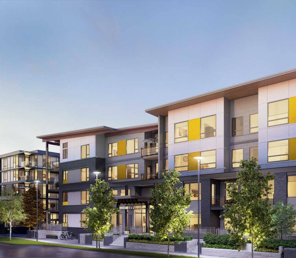 Shoreline by Polygon Homes in South Vancouver